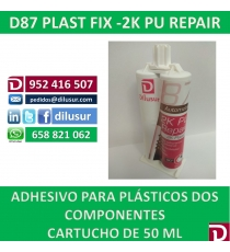 D87 PLAST FIX - 2K  PU REPAIR  50ML