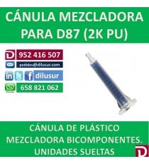 CANULA PLASTICO FIX CUADARADA 50ML PARA D87