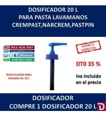 DOSIFICADOR 20 L
