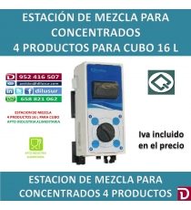 ESTACION MEZCLA 4 PROD 16 L CUBO