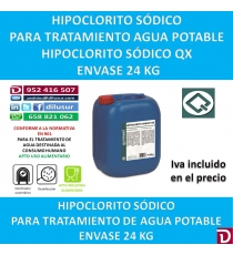 HIPOCLORITO SODICO 24 KG.