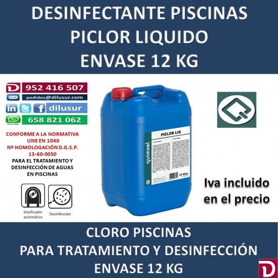 PICLOR LIQUIDO 12 KG