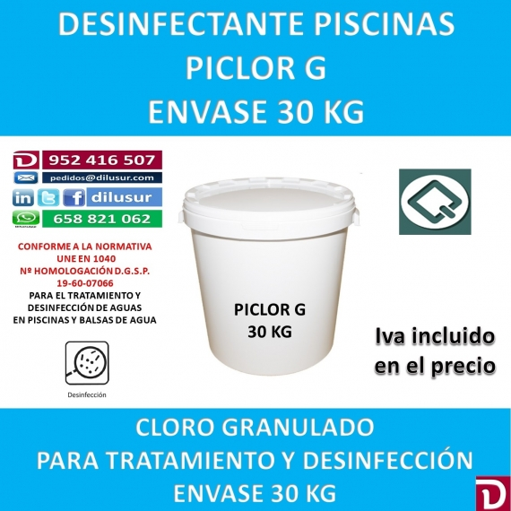 PICLOR G 30 KG.