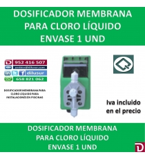 DOSIFICADOR MEMBRANA CLORO LIQUIDO
