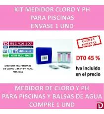 MEDIDOR CLORO Y PH