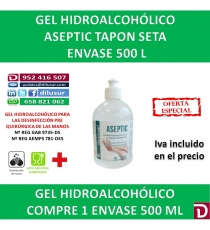 ASEPTIC TAPON 500 ML