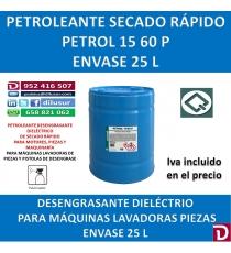 PETROL 15-60 P 25 LITROS.