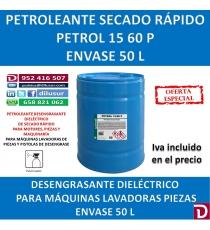 PETROL 15-60  P 50 LITROS.