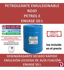 PETROL E 50 L