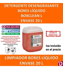 BOX CLEAN L 20 LTS