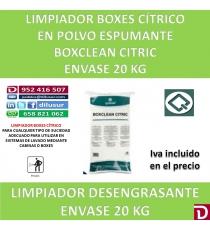 BOXCLEAN CITRIC  20 KG.