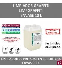 LIMPIADOR DE GRAFFITI  10 LTS