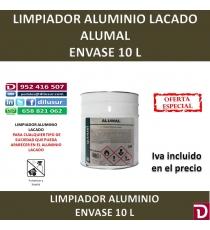 LIMPIADOR ALUMINIO LACADO ALUMAL 10 L