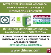 BRIXOL AMONIACAL 5 L