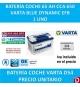 BATERIA COCHE VARTA 65 AH D54