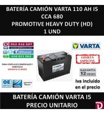 BATERIA CAMION VARTA 110 AH I5