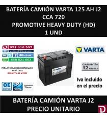 BATERIA CAMION VARTA 125 AH J2