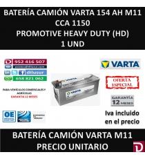 BATERIA CAMION VARTA 154 AH M11