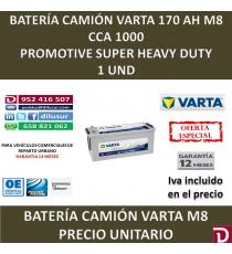 BATERIA CAMION VARTA 170 AH M8
