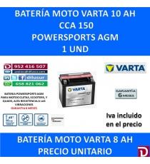 BATERIA MOTO 10 AH YTX12-4 YTX12-BS