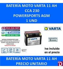 BATERIA MOTO 11 AH TTZ14S-4 TTZ14S-BS