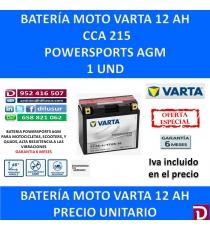 BATERIA MOTO 12 AH YT12B-4 YT12B-BS