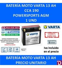 BATERIA MOTO 13 AH YT14B-4 YT14B-BS