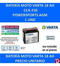 BATERIA MOTO 18 AH YTX20L-4 YTX20L-BS
