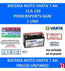 BATERIA MOTO 7 AH YT7B-BS YT7B-4
