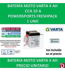 BATERIA MOTO 4 AH 6N4-2A-2 6N4A-2A-4