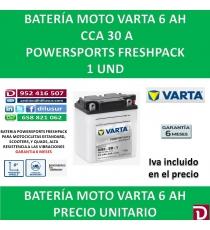 BATERIA MOTO 6 AH 6N6-3B-1