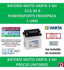 BATERIA MOTO 3 AH YB3L-A