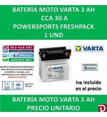BATERIA MOTO 3 AH YB3L-B