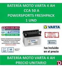 BATERIA MOTO 4 AH YB4L-B