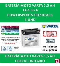 BATERIA MOTO 5.5 AH 12N5.5-3B