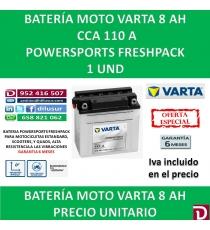 BATERIA MOTO 8 AH YB7-A CB7-A