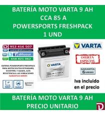 BATERIA MOTO 9 AH 12N9-4B-1 YB9-B