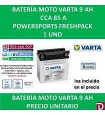 BATERIA MOTO 9 AH 12N9-3B YB9L-B