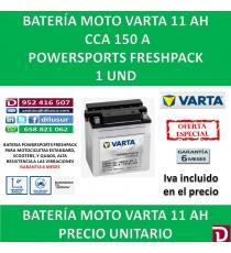 BATERIA MOTO 11 AH YB10L-A2 12N10-3A