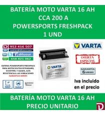 BATERIA MOTO 16 AH YB16B-A