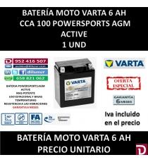BATERIA MOTO 6 AH YTX7L (FA)