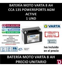 BATERIA MOTO 8 AH YTX9 (FA)