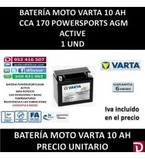 BATERIA MOTO 10 AH YTX12 (FA)
