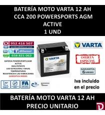 BATERIA MOTO 12 AH YTX14 (FA)
