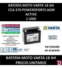 BATERIA MOTO 18 AH YTX20L (FA)