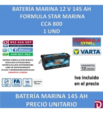 BATERIA FSTAR MARINA 145 AH