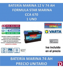 BATERIA FSTAR MARINA 74 AH