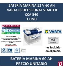 BATERIA MARINA VARTA 60 AH