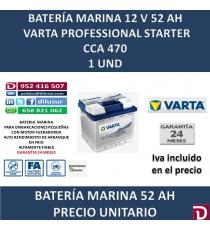 BATERIA MARINA VARTA 52 AH