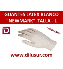 GUANTE LATEX NEW MARK T-L 100 UNDS